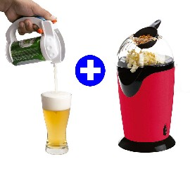 Pop Corn + Dispensador Cerveza